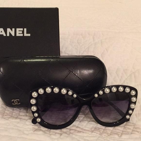 d97671feca9 CHANEL Accessories - Chanel Pearl Sunglasses